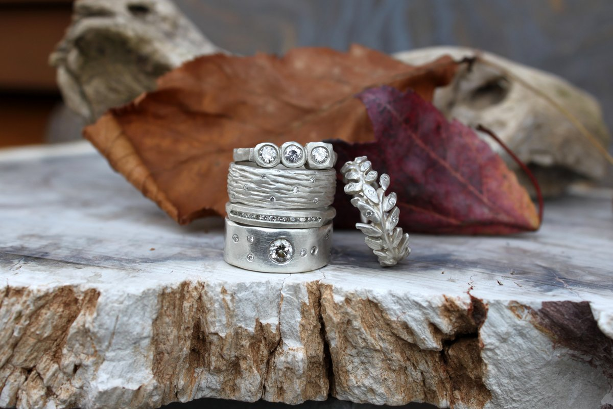 Messinger Sterling Silver Rings