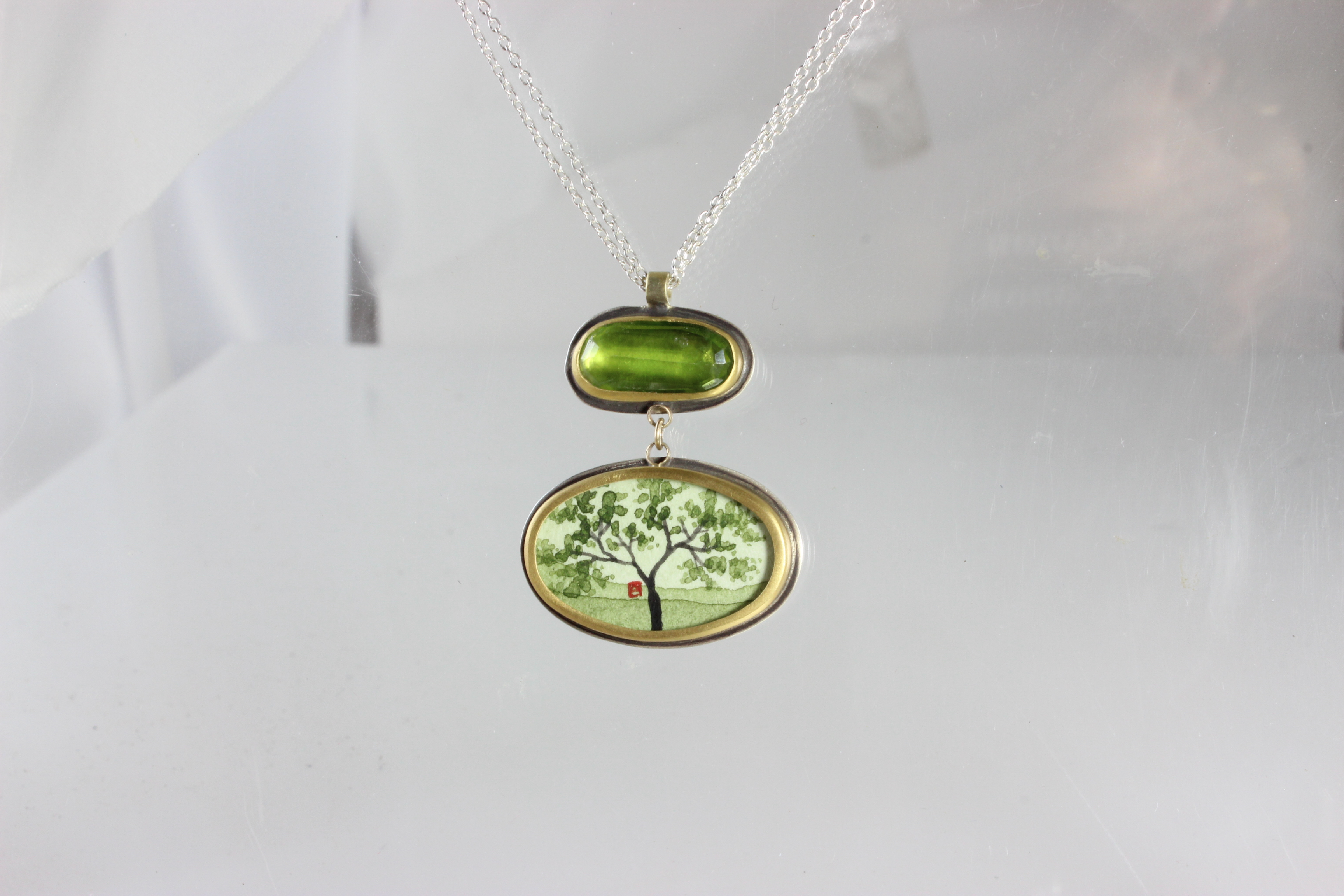 Khalsa Necklace with Japanese Maple