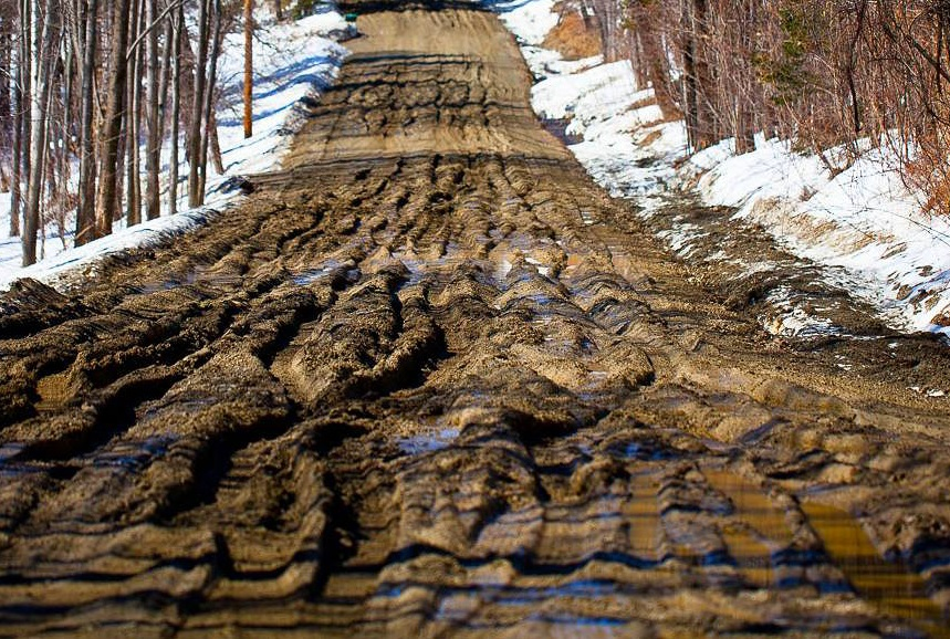 Mud Season in Vermont