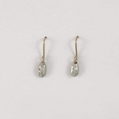 ca66dbdad Wire Water Droplet Diamond Earrings: Remarkable Things at Stowe Craft
