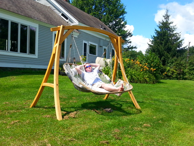 Swing Stand For Double Hammock Chair Stowe Craft Gallery