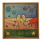 Cheers! Celebration Sticks Plaque